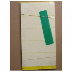 Panneaux Jaunes avec film protecteur 20x40