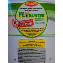 Flybuster Garden Instructions d'utilisation