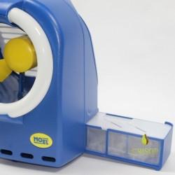 Détail du tiroir de l'Insectivoro 361B Bleu